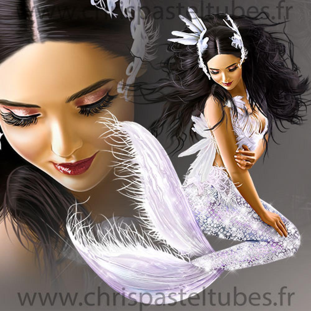 Swan Mermaid